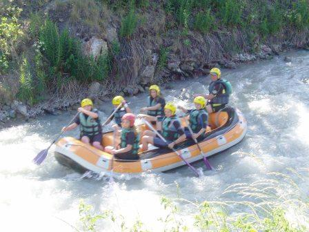 Rafting briancon