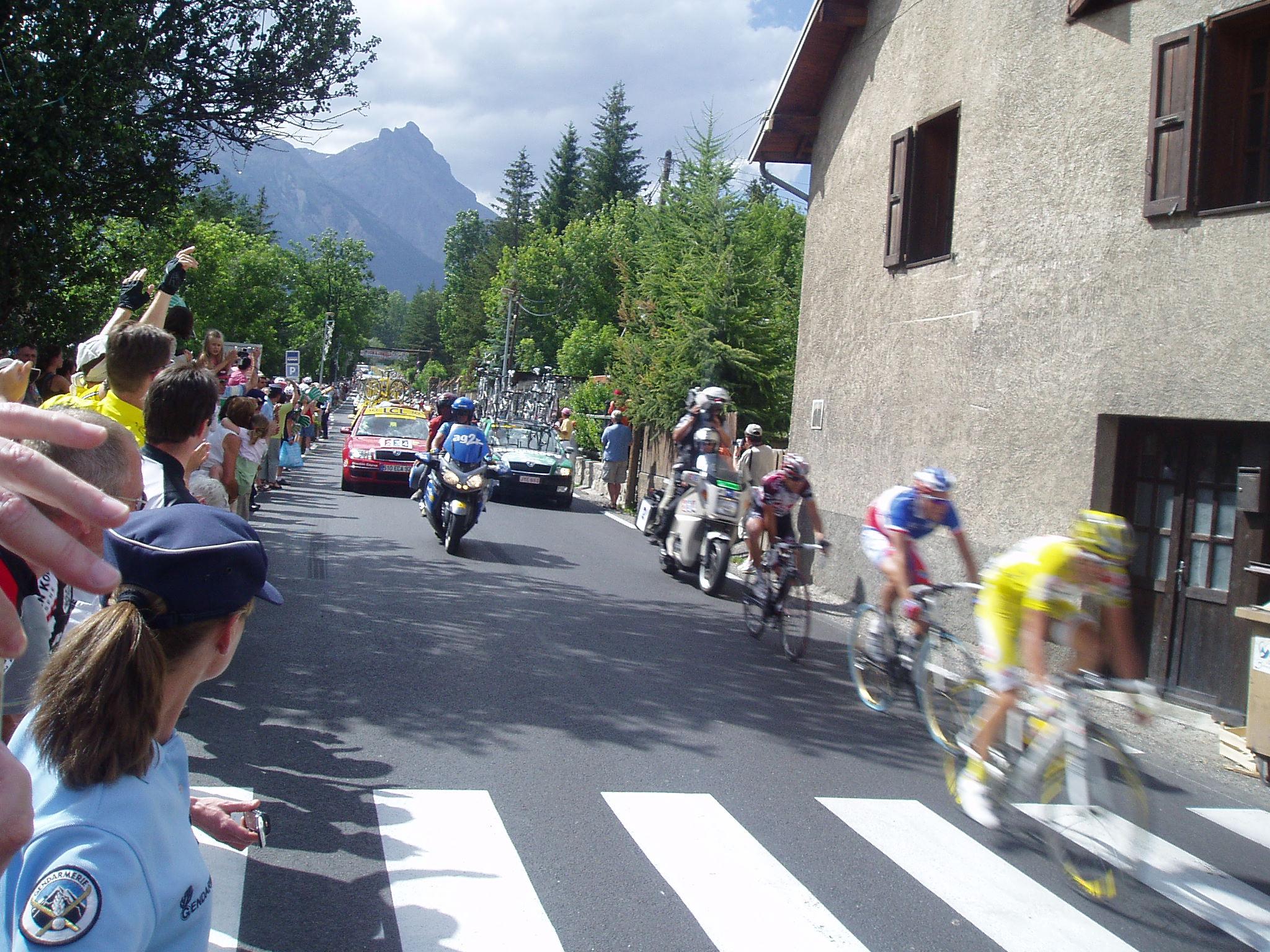 Tour de France 17th July.