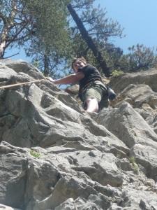 Rock Climbing in Plampinet